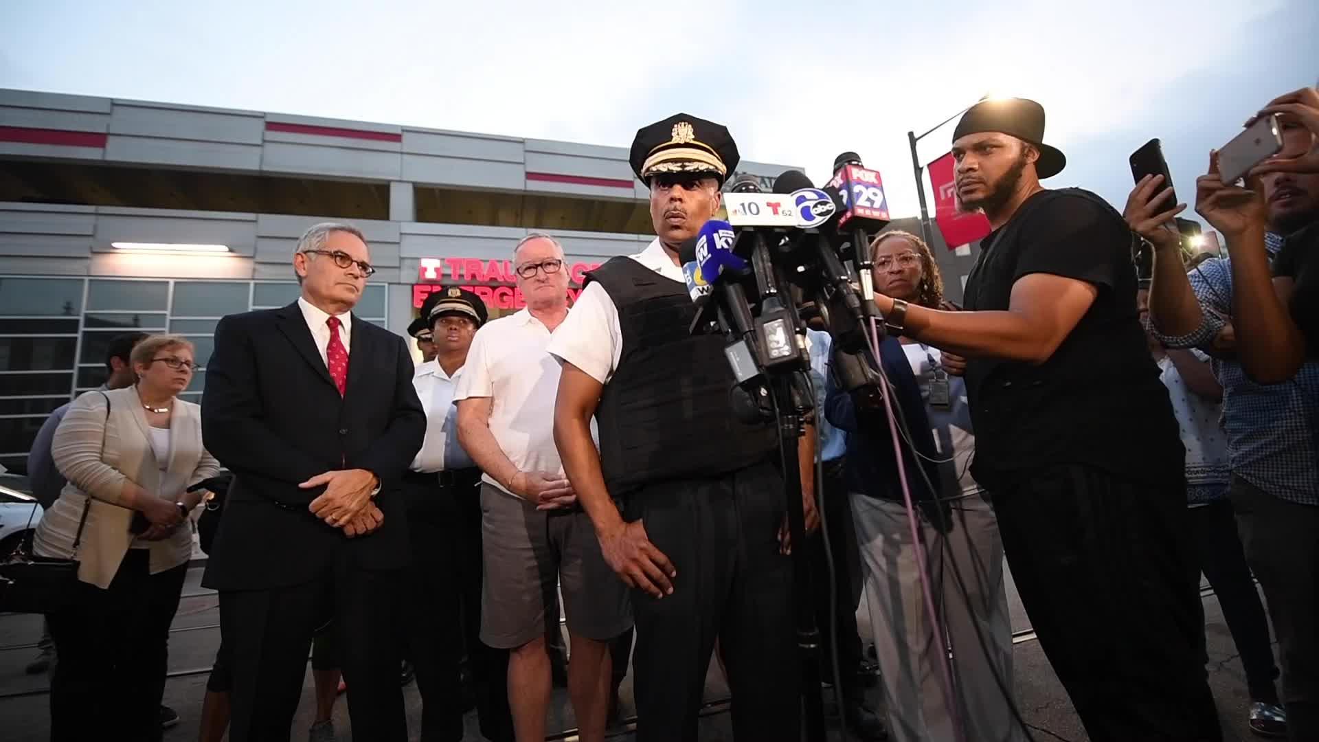 Philly police shooting recap: Gunman had AR-15 and handgun